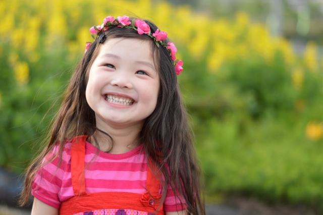 【セロトニン】笑顔の少女
